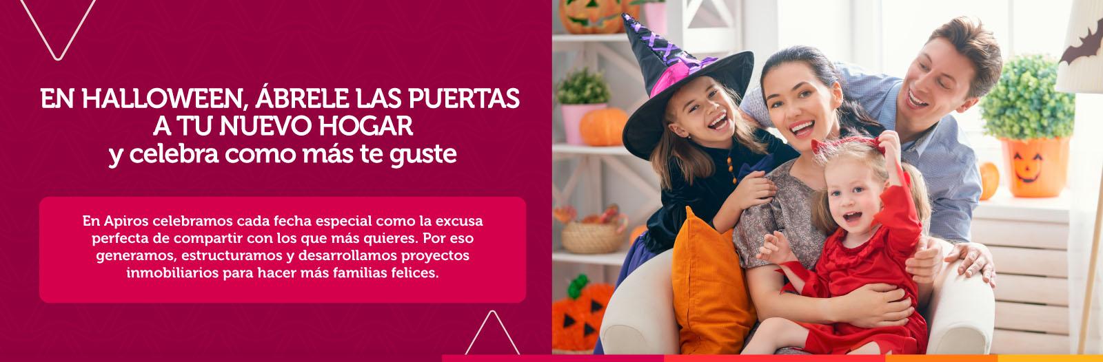 en halloween, abrele las puertas a tu nuevo hogar y celebra como mas guste